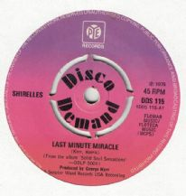 Shirelles - Last Minute Miracle c/w March